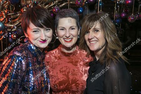 Jodie McNee, Josie Walker (Margaret) and Siobhan Finneran