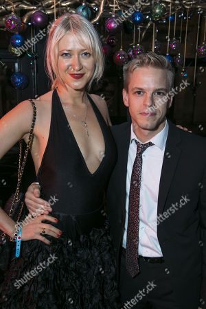 Stock Picture of Siobhan Hewlett and Giles Cooper