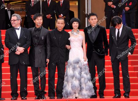 Chen Shicheng,  Lou Ye, Tan Zhuo, Qin Hao and  Wu Wei