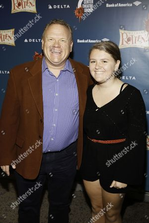 Stock Image of Larry Joe Campbell and Gabriella Campbell