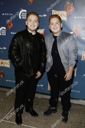 Stock Image of Matthew Royer and Benjamin Royer