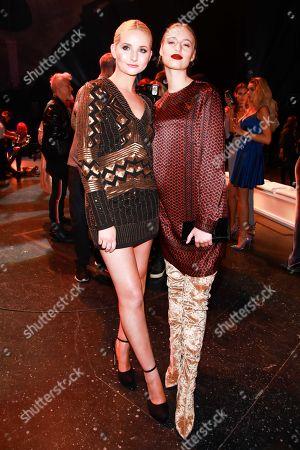 Anna Hiltrop and Cosima Auermann