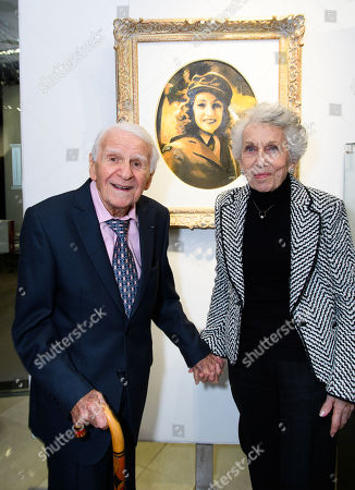 Marcel Stellman of Decca records and wife Jean Stellman