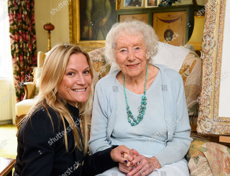 Rachel Simkiss and Dame Vera Lynn