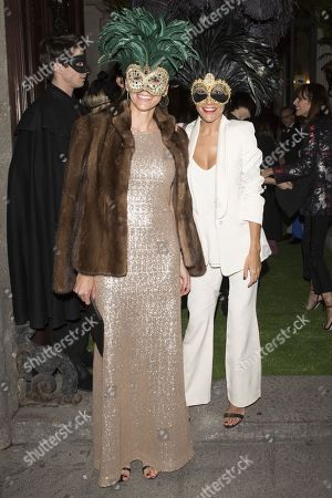 Editorial image of Dior Masquerade Ball Party, Santana Palace, Madrid, Spain - 22 Nov 2017