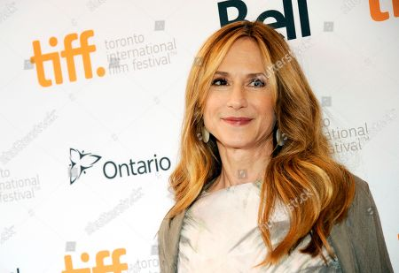 "Holly Hunter arrives at the premiere of ""Manglehorn"" on day 3 of the Toronto International Film Festival at the Winter Garden Theatre in Toronto. Hunter was among one of the readers at the 13th annual Poetry & and the Creative Mind benefit was held, at Alice Tully Hall in New York"