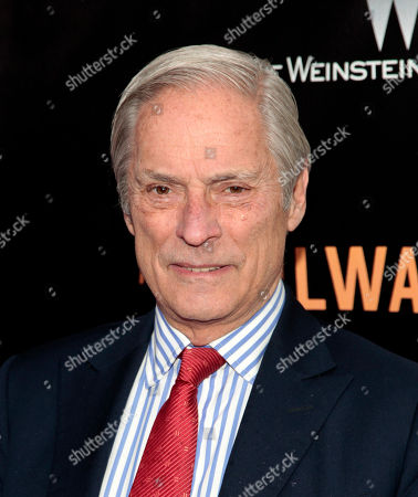 """Bob Simon of """"60 Minutes,"""" attends the New York premiere of """"The Railway Man"""" in New York. Simon was remembered as one of televisionâ?™s ultimate international correspondents, but speakers paying tribute to him, painted a vivid picture of the off-camera man, who loved the opera, telling dirty jokes, could nap at a momentâ?™s notice and was spiritual without being religious. Simon, 73, was killed in a car crash on Feb. 11, when the town car in which he was a passenger hit another car"""