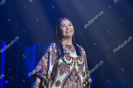 Editorial image of Ana Gabriel in concert at Bellco Theatre, Denver, USA - 22 Nov 2017