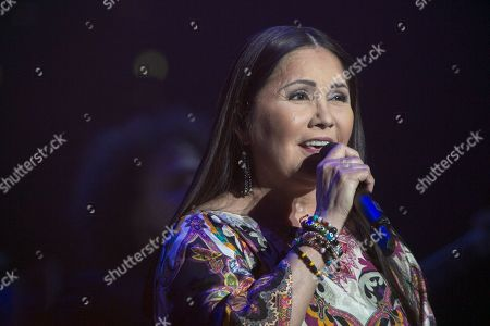 Editorial image of Ana Gabriel in concert at Bellco Theatre, Denver, USA - 22 Nov 2017