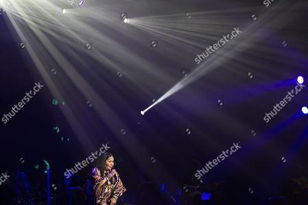 Editorial picture of Ana Gabriel in concert at Bellco Theatre, Denver, USA - 22 Nov 2017