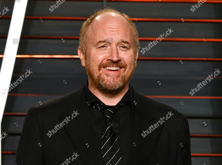 Louis C.K. arrives at the Vanity Fair Oscar Party in Beverly Hills, Calif. The actor-comedian has pushed pause on his FX series and is launching a year-long stand-up comedy tour comprised of all-new material