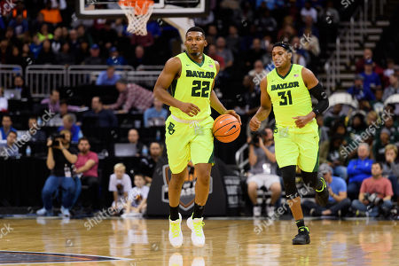 Kansas City, MO. U.S. - Baylor Bears guard King McClure #22 in action during the Hall of Fame Classic men's basketball game between Baylor Bears and Creighton Bluejays at the Sprint Center in Kansas City, MO..Baylor won 65-59
