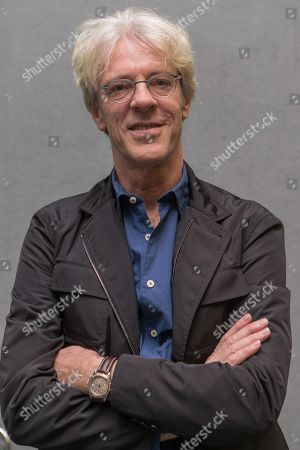 Stewart Copeland of The Police speaks during the 2015 National Association of Music Merchants (NAMM) show at the Anaheim Convention Center on in Anaheim, Calif