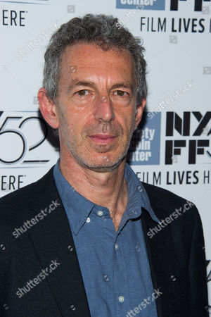 """Martin Rejtman attends the """"Two Shots Fired"""" screening during the 52nd New York Film Festival at Alice Tully Hall, in New York"""