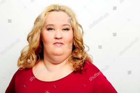 June Shannon aka Mama June poses for a portrait in New York. Shannon and boyfriend Mike Thompson aka Sugar Bear are on the new season of â?oeMarriage Bootcamp Reality Starsâ?? on We