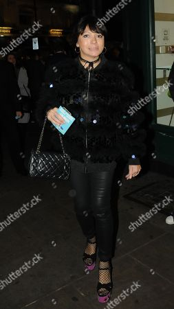 Editorial photo of Betty Boo out and about, London, UK - 22 Nov 2017