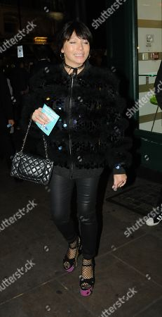 Editorial picture of Betty Boo out and about, London, UK - 22 Nov 2017