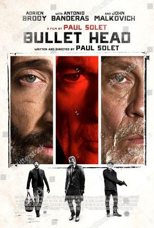 Stock Photo of Bullet Head (2017) Poster Art. Adrien Brody, Antonio Banderas, John Malkovich