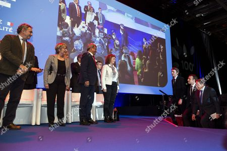 Editorial picture of 100th Mayors Congress in Paris, France - 23 Nov 2017