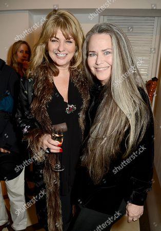 Carole Ashby and Koo Stark