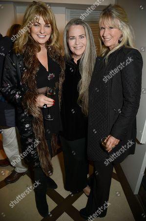 Carole Ashby, Koo Stark and Sally McCarthy