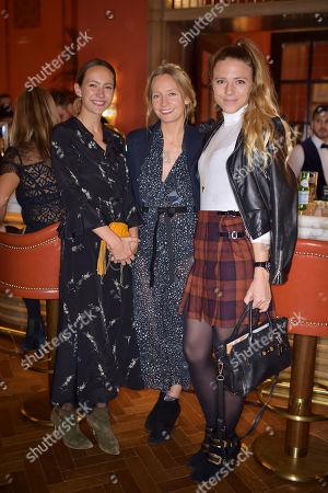 Stock Image of Lavinia Brennan, Martha Ward and Sophie Moss