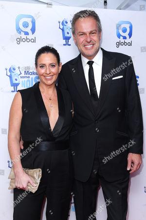 Stock Image of Peter Jones and Tara Capp