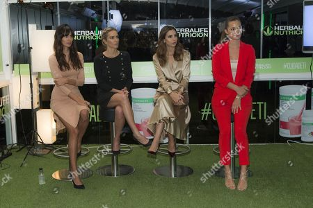 Malena Costa, Melissa Jimenez, Kira Miro and Ana Albadalejo
