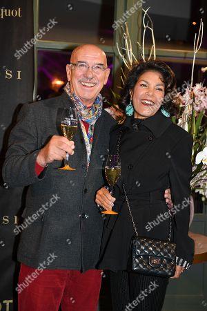 Otto Retzer with wife Shirley
