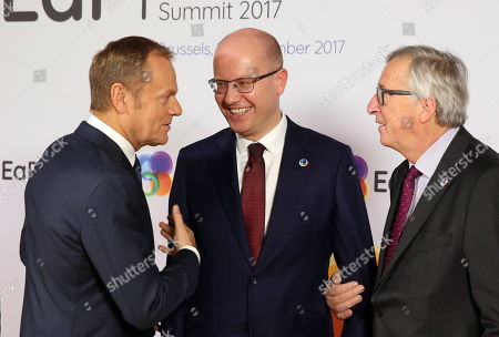 Editorial image of EU Eastern Partnership Summit, Brussels, Belgium - 24 Nov 2017