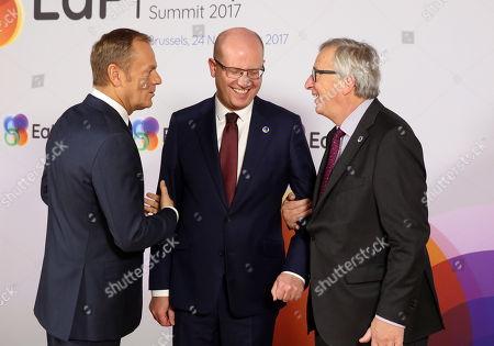 Editorial picture of EU Eastern Partnership Summit, Brussels, Belgium - 24 Nov 2017