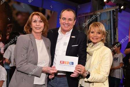 Senta Berger, Wolfram Kons and Uschi Glas