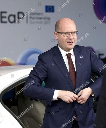 Editorial photo of EU Eastern Partnership Summit, Brussels, Belgium - 24 Nov 2017