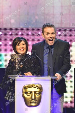 Stock Picture of Presenters - Pui Fan Lee, Chris Jarvis