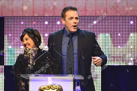 Stock Photo of Presenters - Pui Fan Lee, Chris Jarvis