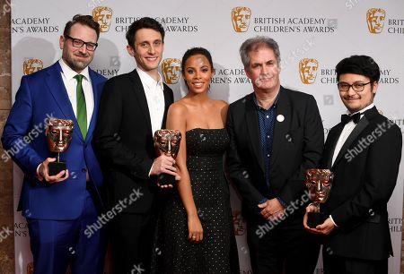 Editorial photo of British Academy Children's Awards, Press Room, London, UK - 26 Nov 2017