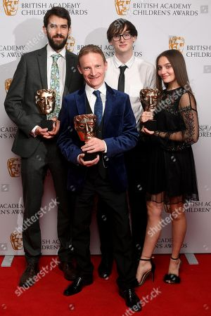 Editorial picture of British Academy Children's Awards, Press Room, London, UK - 26 Nov 2017