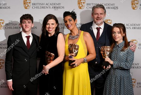 Ruth Mills, Sallyann Keizer and Luke Gallie - Pre-School -Live Action- Our Family with Art Parkinson and Rosie Day