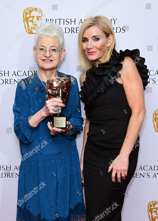 Dame Jacqueline Wilson - Special Award and Michelle Collins