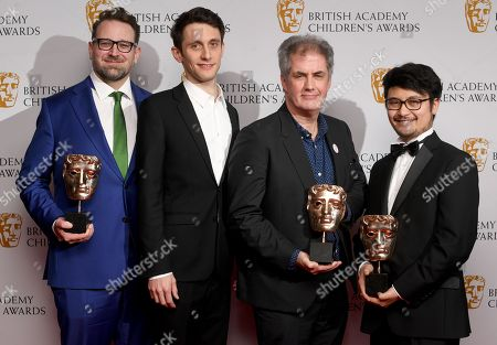 Editorial image of British Academy Children's Awards, Press Room, London, UK - 26 Nov 2017