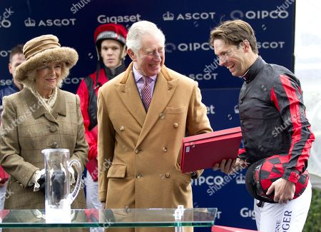 Prince Charles, Camilla Duchess of Cornwall and Harry Meade