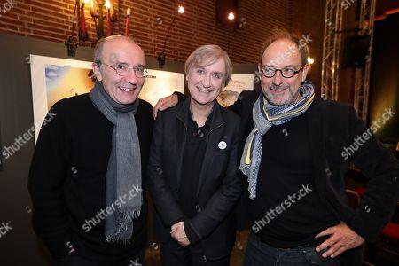 Philippe Geluck, Jean Plantu, Pierre Kroll