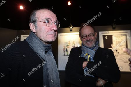 Philippe Geluck, Pierre Kroll