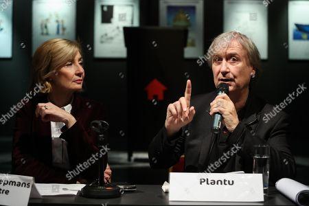 Francoise Schepmans, Jean Plantu