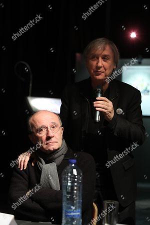 Philippe Geluck and Jean Plantu