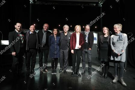 Hossam Al-Saadi, Michel Kichka, Philippe Geluck, Jean Pantu, Francoise Schepmans, Pierre Kroll