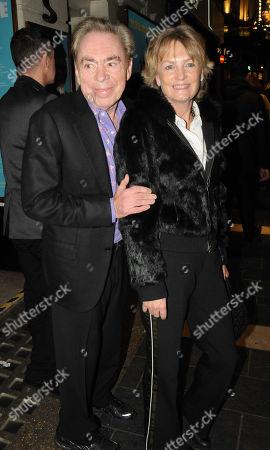 Sir Andrew Lloyd Webber and wife Madeleine Gurdon