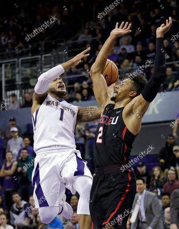 Editorial photo of Washington Basketball, Seattle, USA - 24 Nov 2017