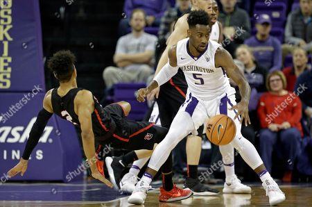 Editorial image of Washington Basketball, Seattle, USA - 24 Nov 2017