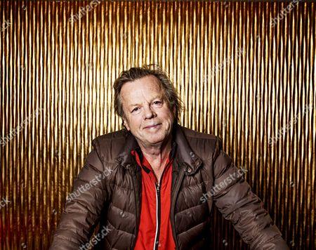 Editorial image of Krister Henriksson portrait session, Gothernburg, Sweden - 24 Nov 2017